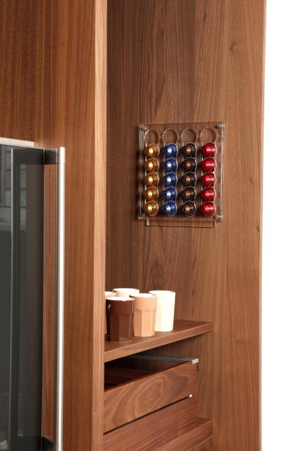 evolusso halter f r nespresso kapseln innovative. Black Bedroom Furniture Sets. Home Design Ideas